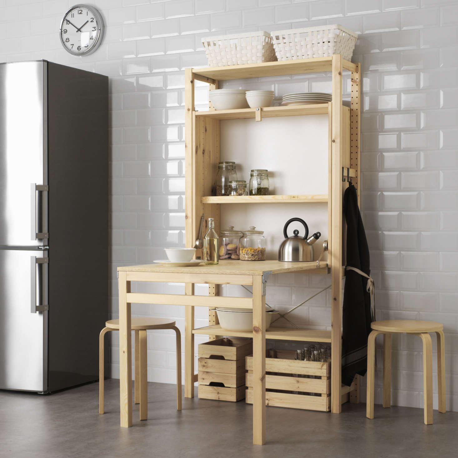 Ikea.de Ivar New To Ikea The Cool Foldable Table Every Small Kitchen Needs