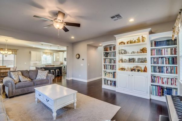 This is a wonderful, floorplan that best utilizes the space available. No wasted formal living / dining. Entertain or enjoy your family with plenty of space between the great room, kitchen, dining, etc.