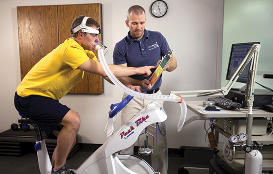 Lab helps to fit fitness into a sedentary society Rochester