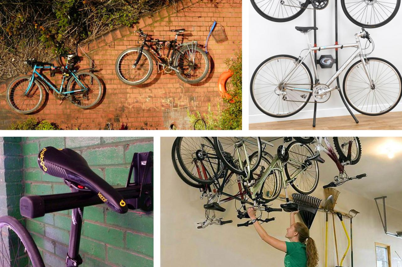 Tidy Garage Bike Rack Installation 10 Of The Best Bike Storage Systems Racks And Hooks For Indoor