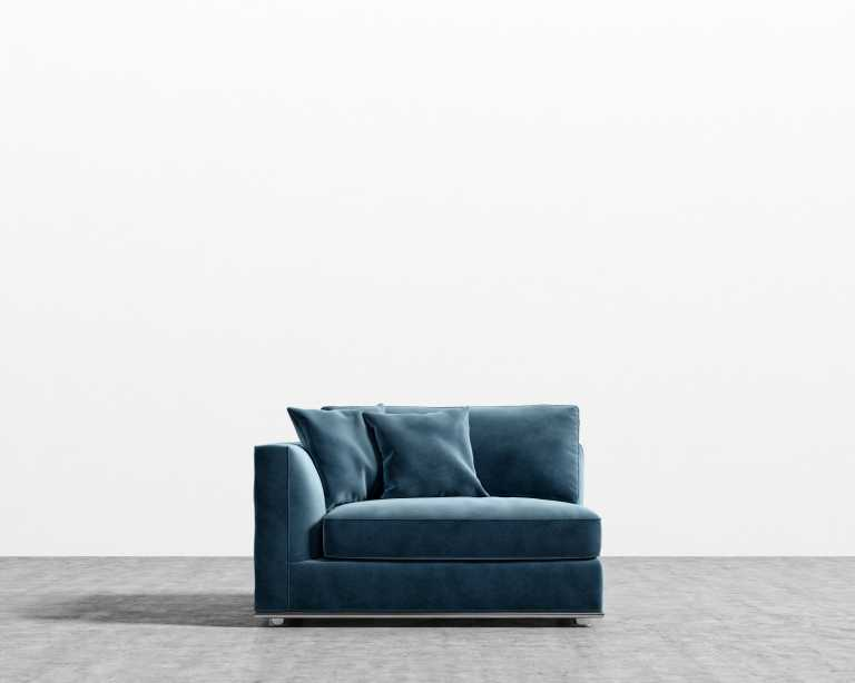 Sectionals For Small Spaces Canada Milo 1-seater - Left Arm | Rove Concepts