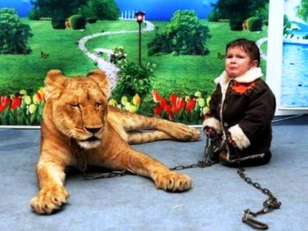 parenting fail lion crying child The Worlds Worst Parents, Part II