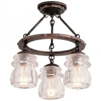 Rustic Transitional - Rustic Lighting & Fans by KIVA Lighting