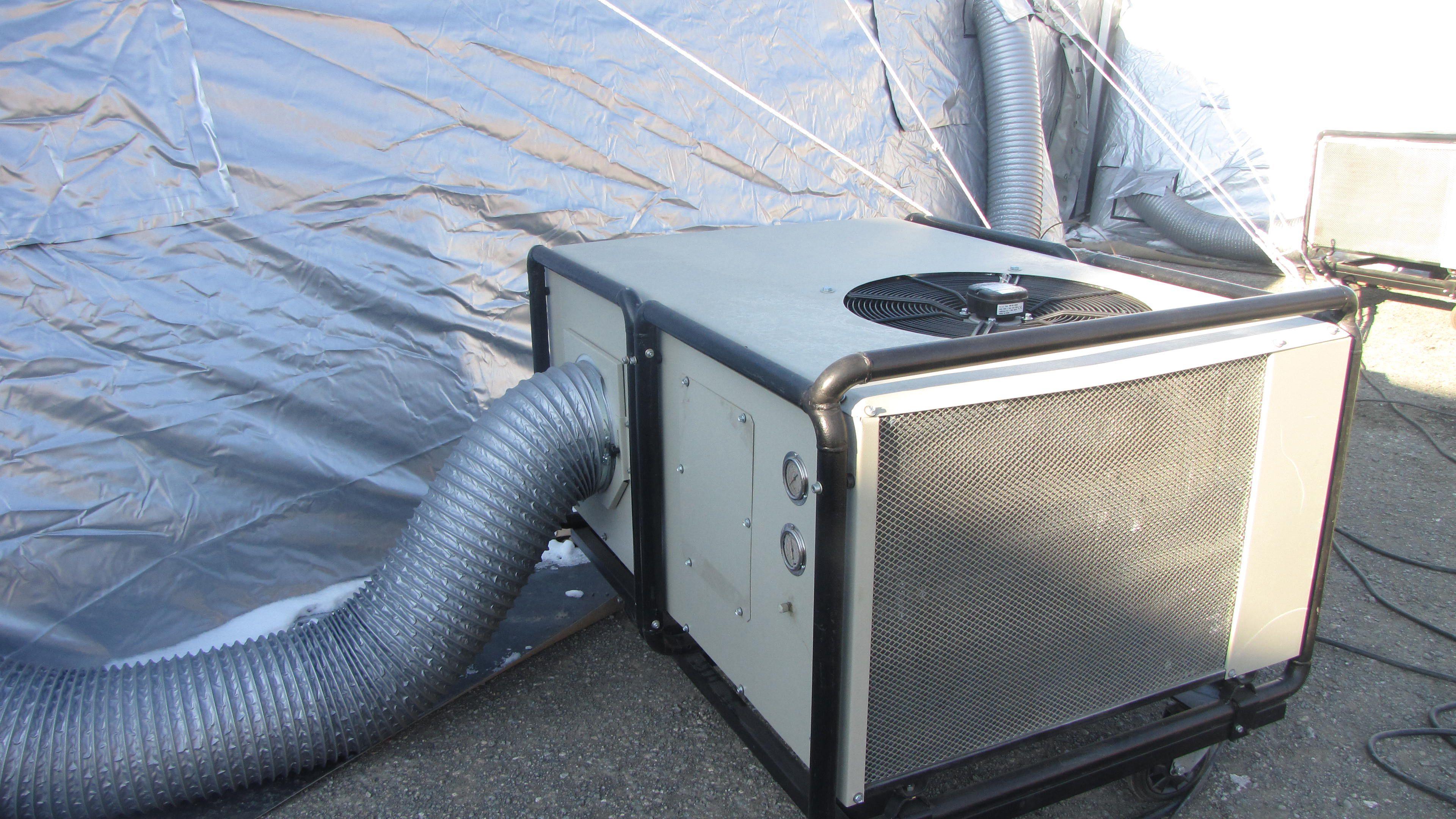 Portable Tent Air Conditioner >> Portable Tent Air Conditioner Drez 4 Ton Portable Air Conditioner