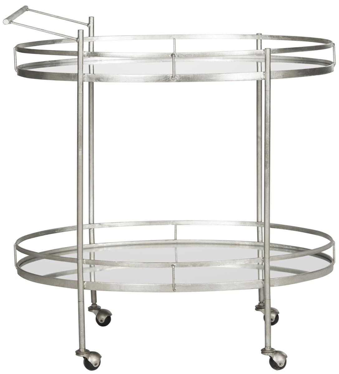 A Frame Trolley Fox2553a Bar Carts Furniture By Safavieh