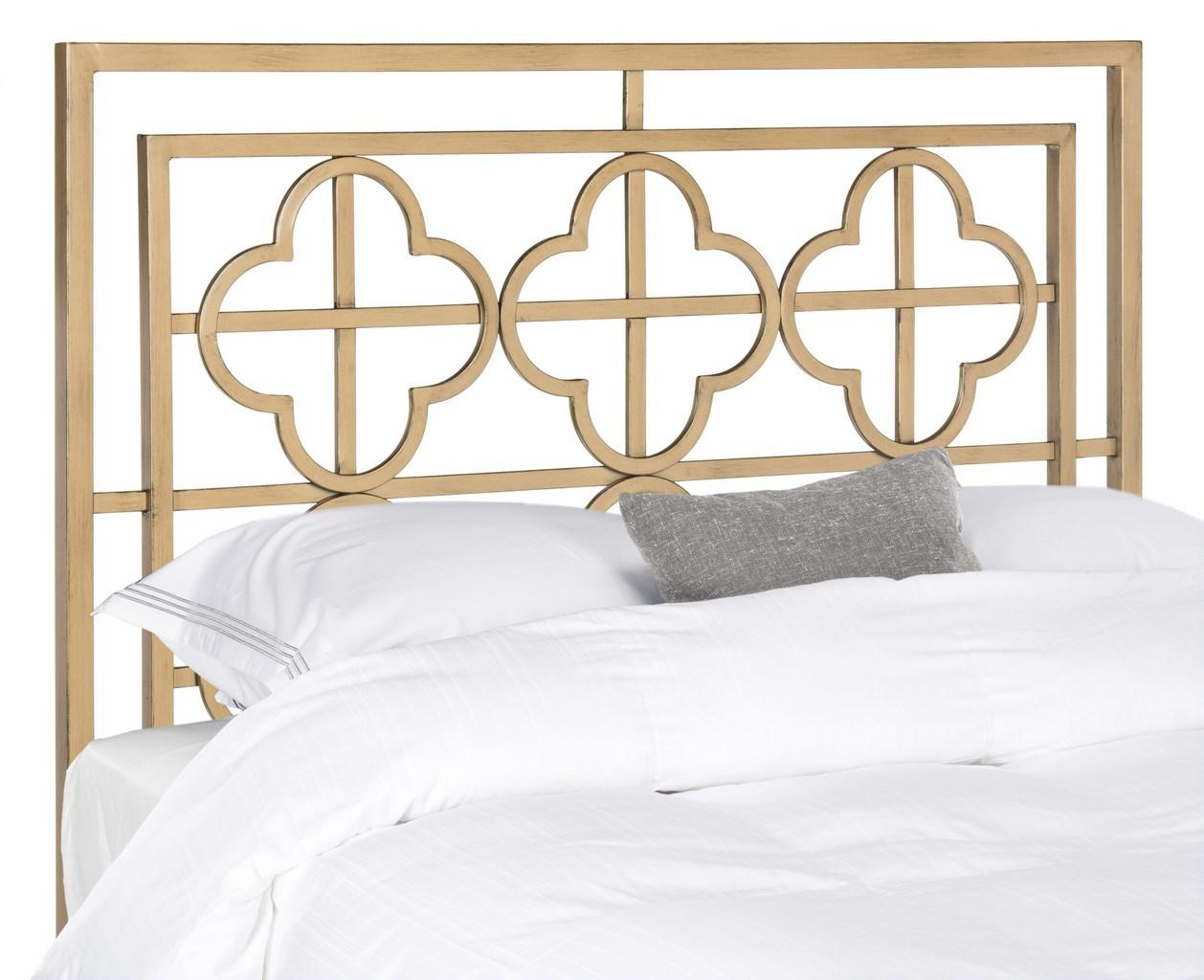 Metal Bed Headboards Lucinda Antique Gold Metal Headboard Headboards Furniture By