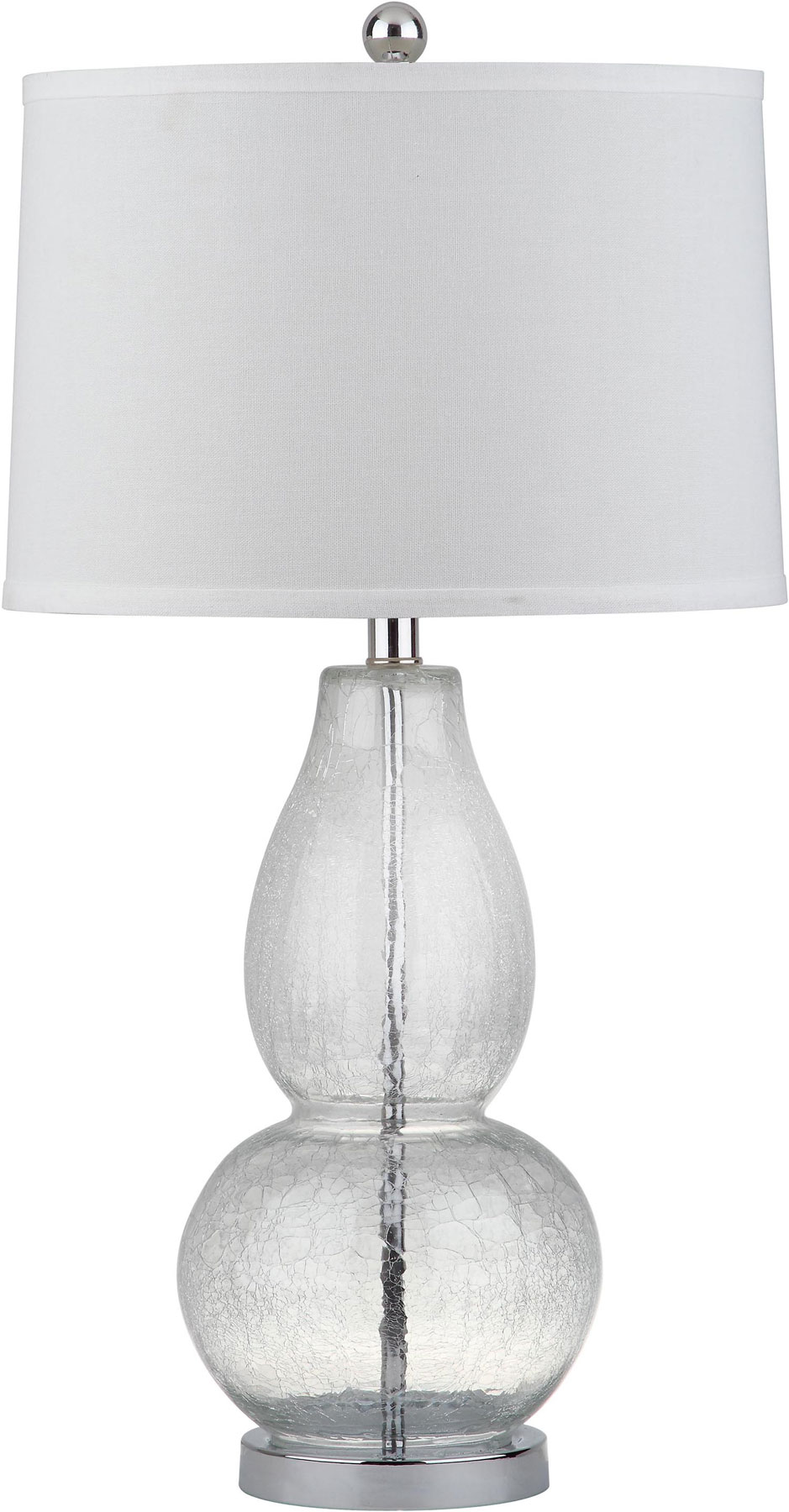 Glass Crackle Lamp Lit4155a Set2 Table Lamps Lighting By Safavieh