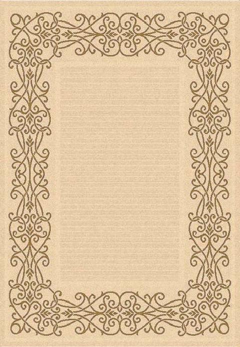 Scroll Border Outdoor Carpet Safavieh Indoor-Outdoor Rugs