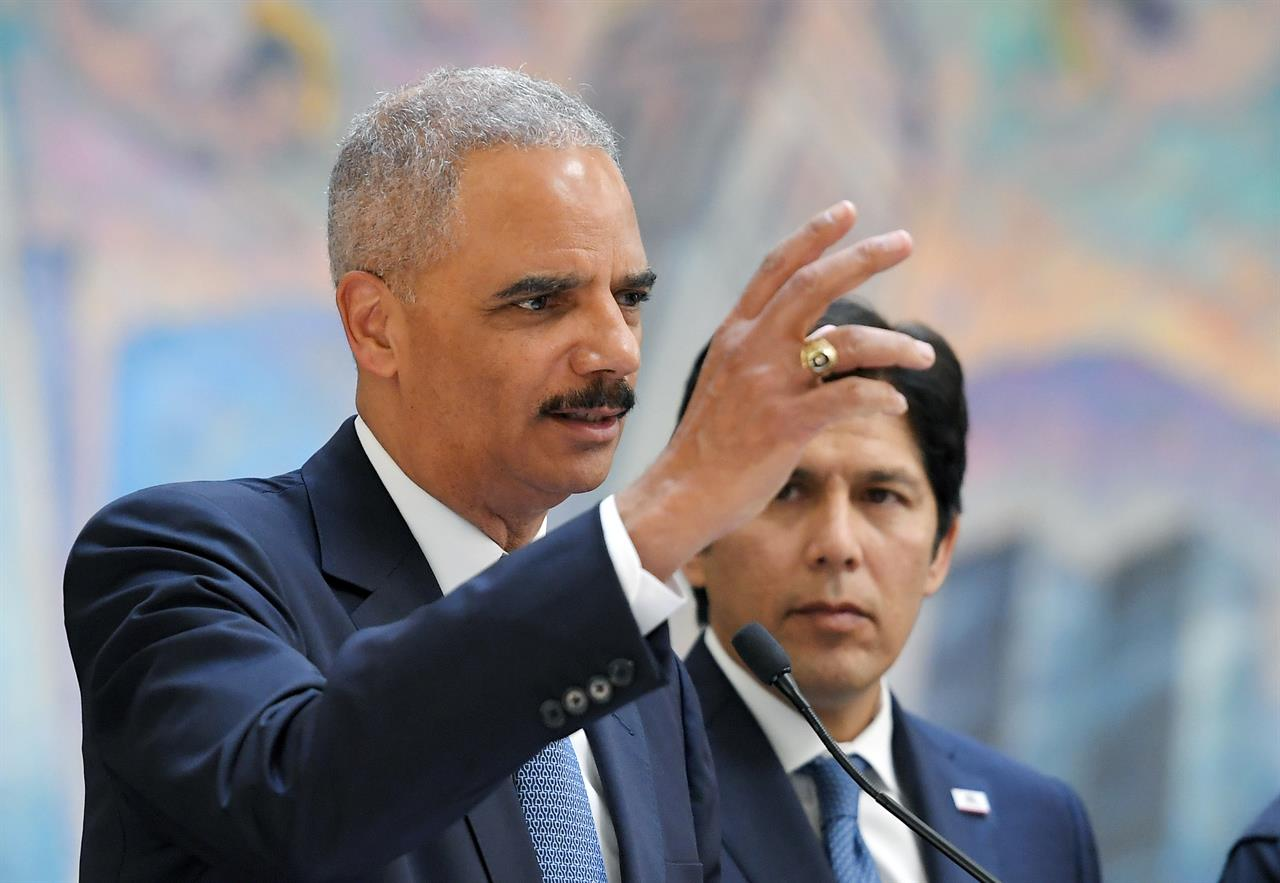 Eric Holder Cutting Sanctuary City Funds Unconstitutional
