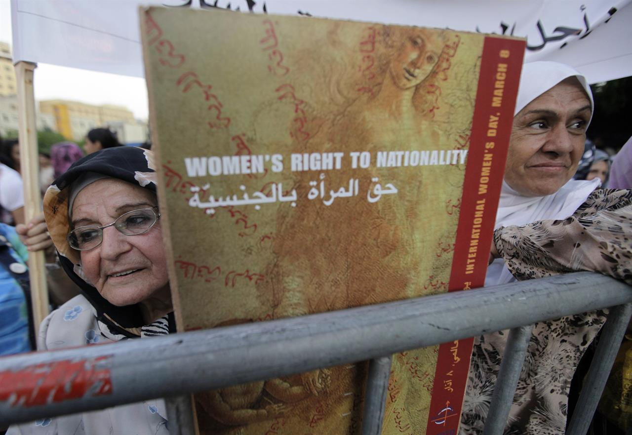 Knus Wonen Scores Naturalized In Lebanon Where Women Still Lack Rights 710