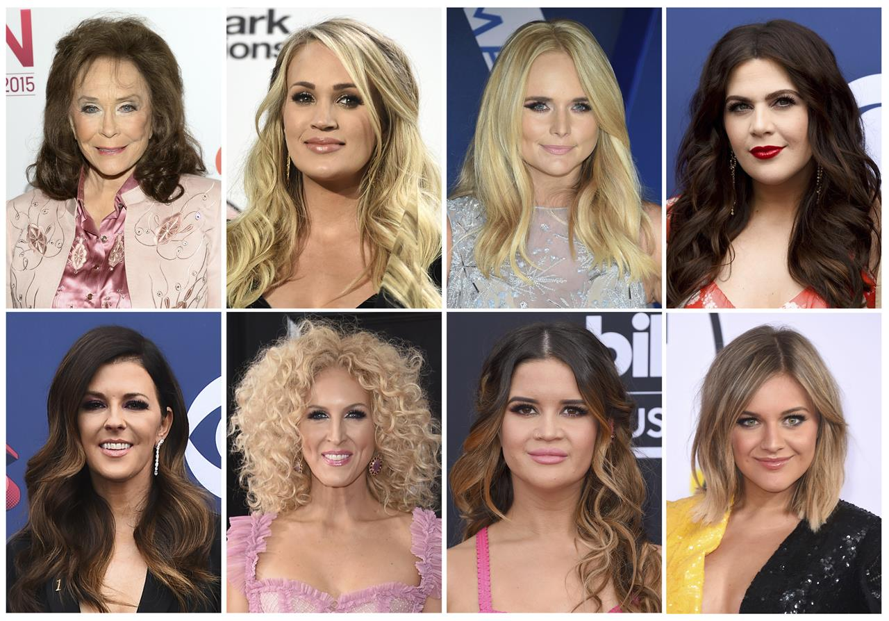 Knus Wonen Country Women Applaud Cmt For All Female Awards Show 710