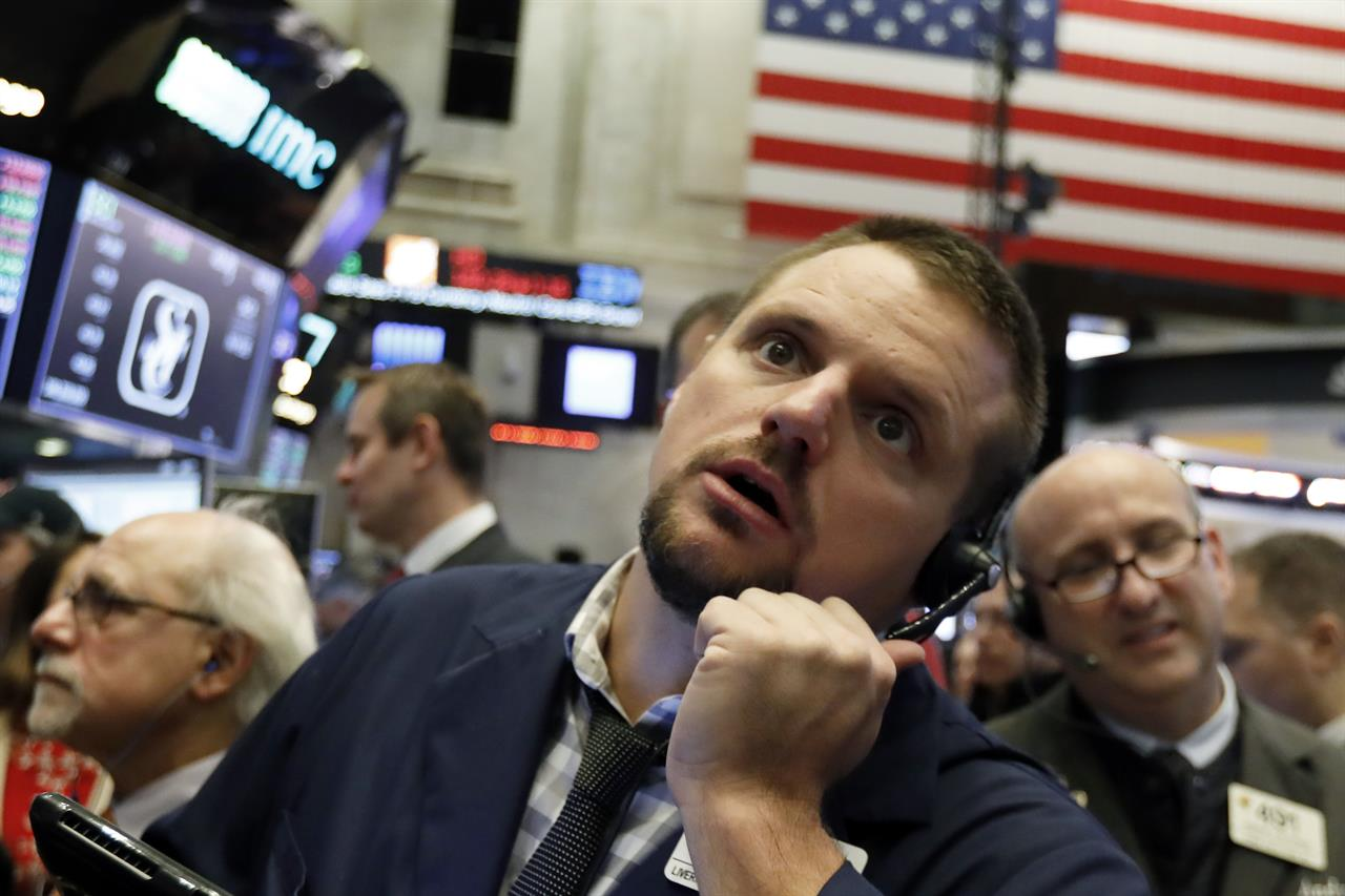 Us Stocks Wobble At The End Of Another Shaky Week Of