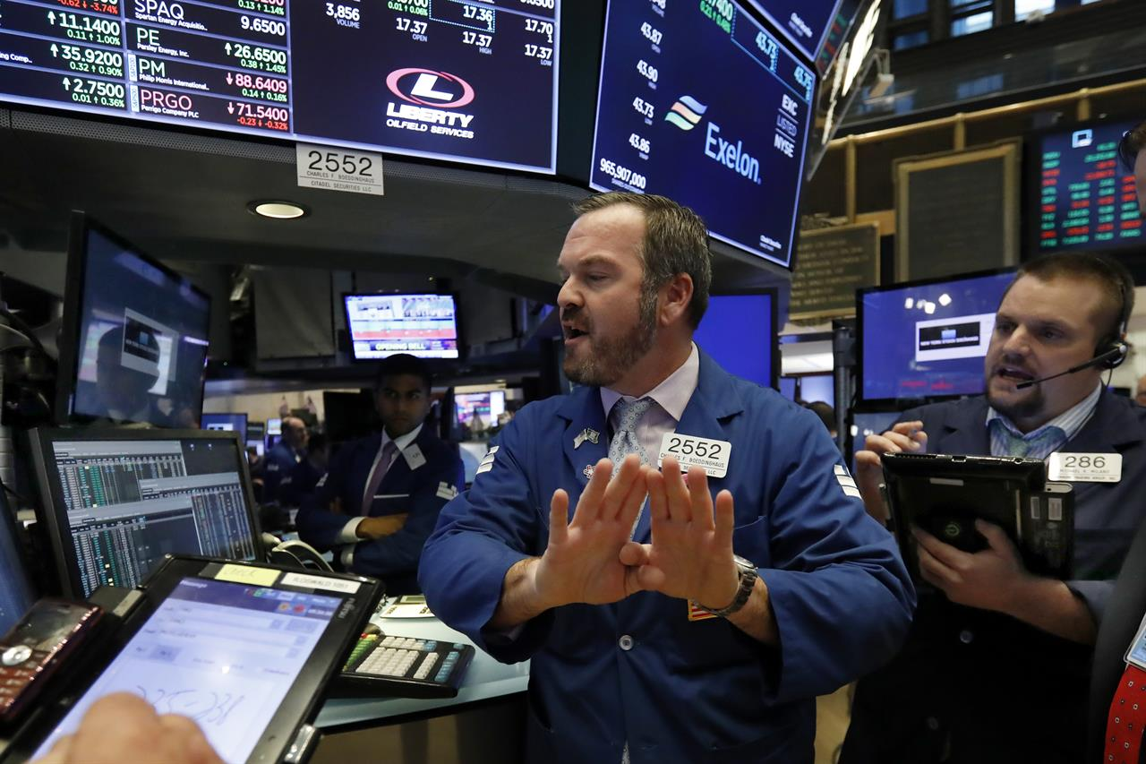 Tech Companies Lead Another Steep Sell Off In Us Stocks
