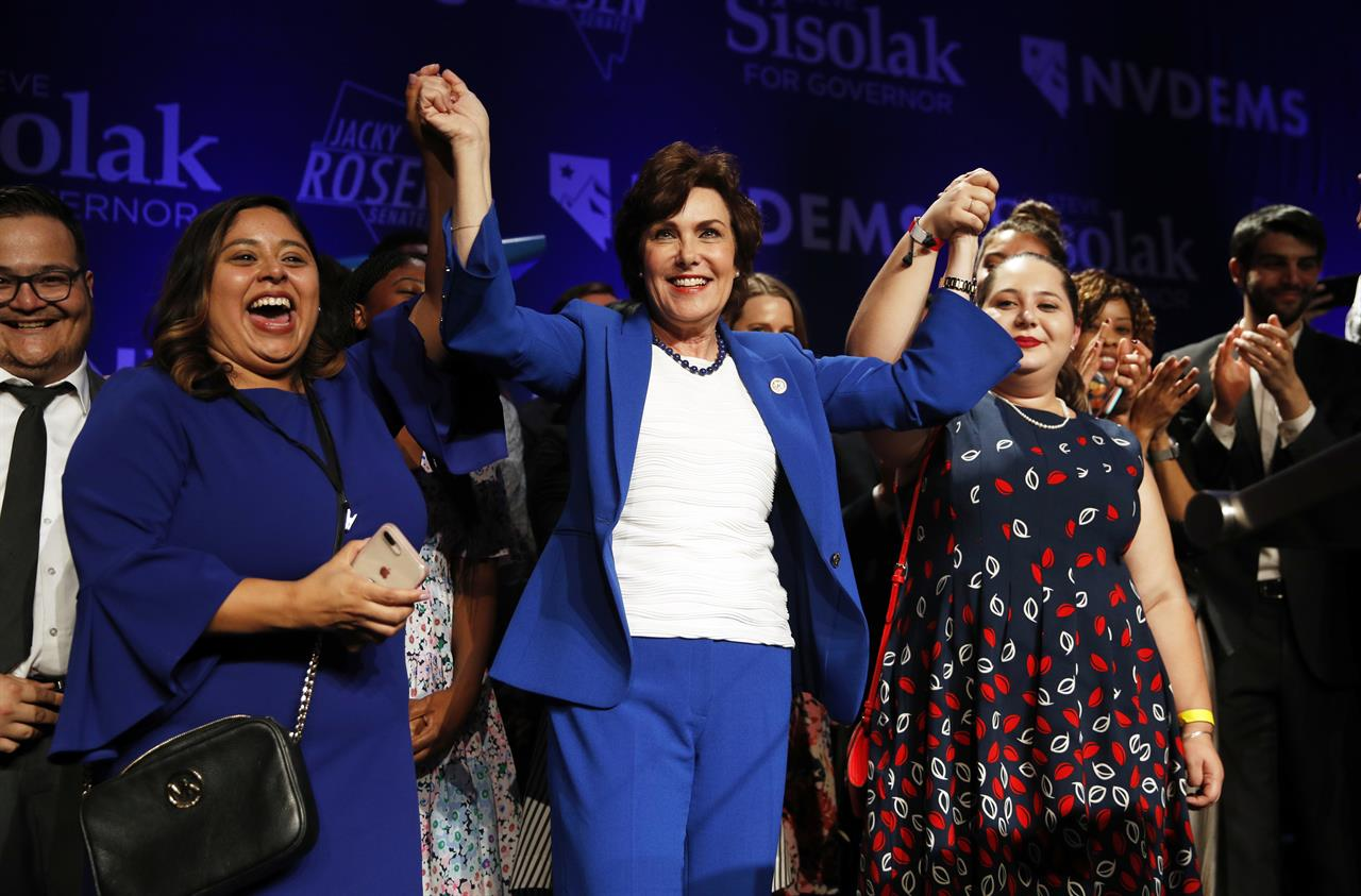 Knus Wonen Nevada Women Score Big Election Wins Amid Activism 710 Knus