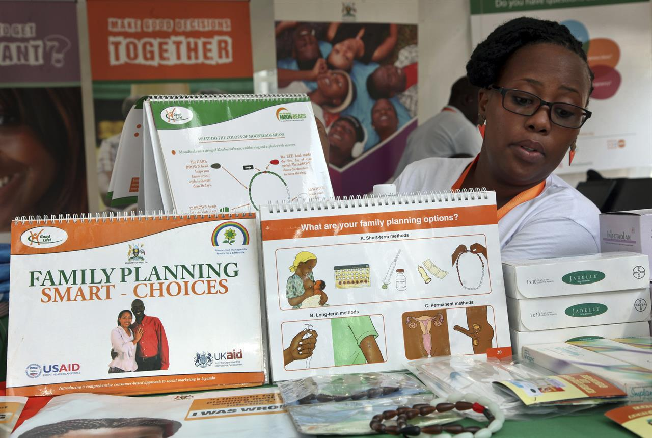 Knus Wonen More Women In Poor Countries Use Contraception Says Report 710