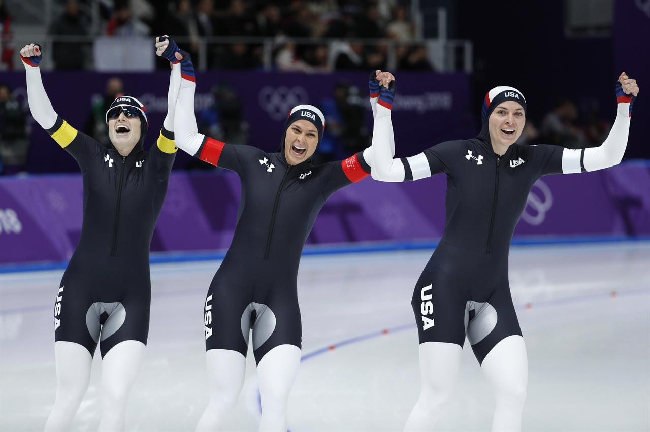 Knus Wonen Us Women Win Bronze To End Speedskating Medal Drought 710 Knus