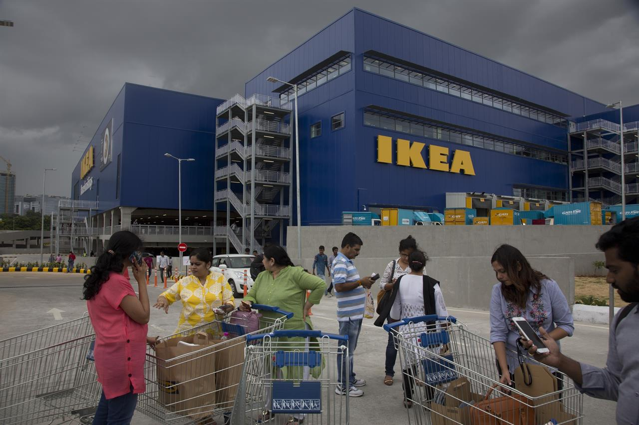 Ikea San Diego Hours Ikea Woos India S Rising Consumer Class Tapping New Markets The