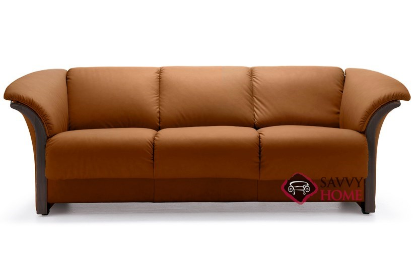 Stressless Manhattan Sofa Price Quick-ship Reno Leather Sofa In Paloma Brandy By