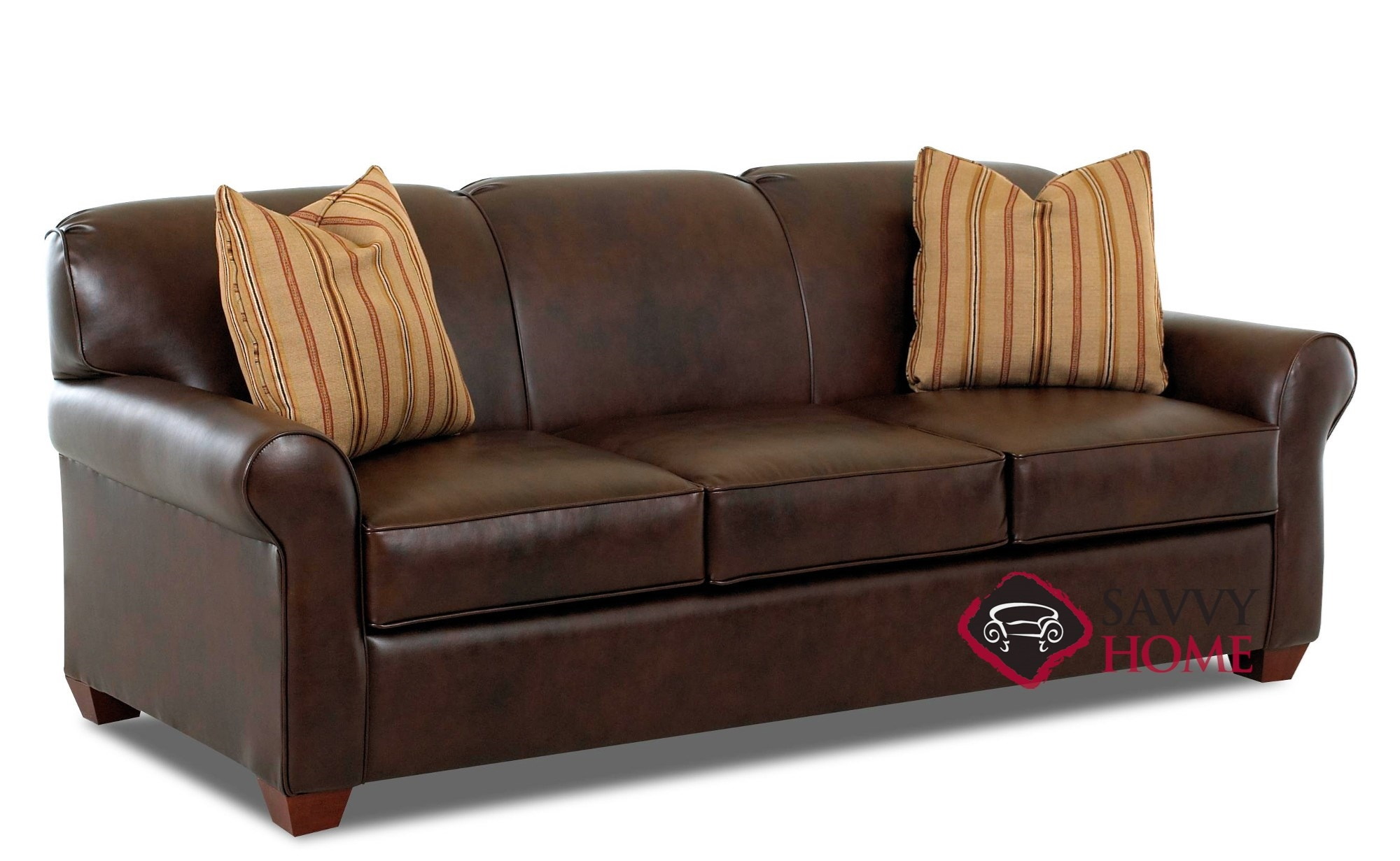 Affordable Furniture Calgary Calgary Leather Stationary Sofa By Savvy Is Fully