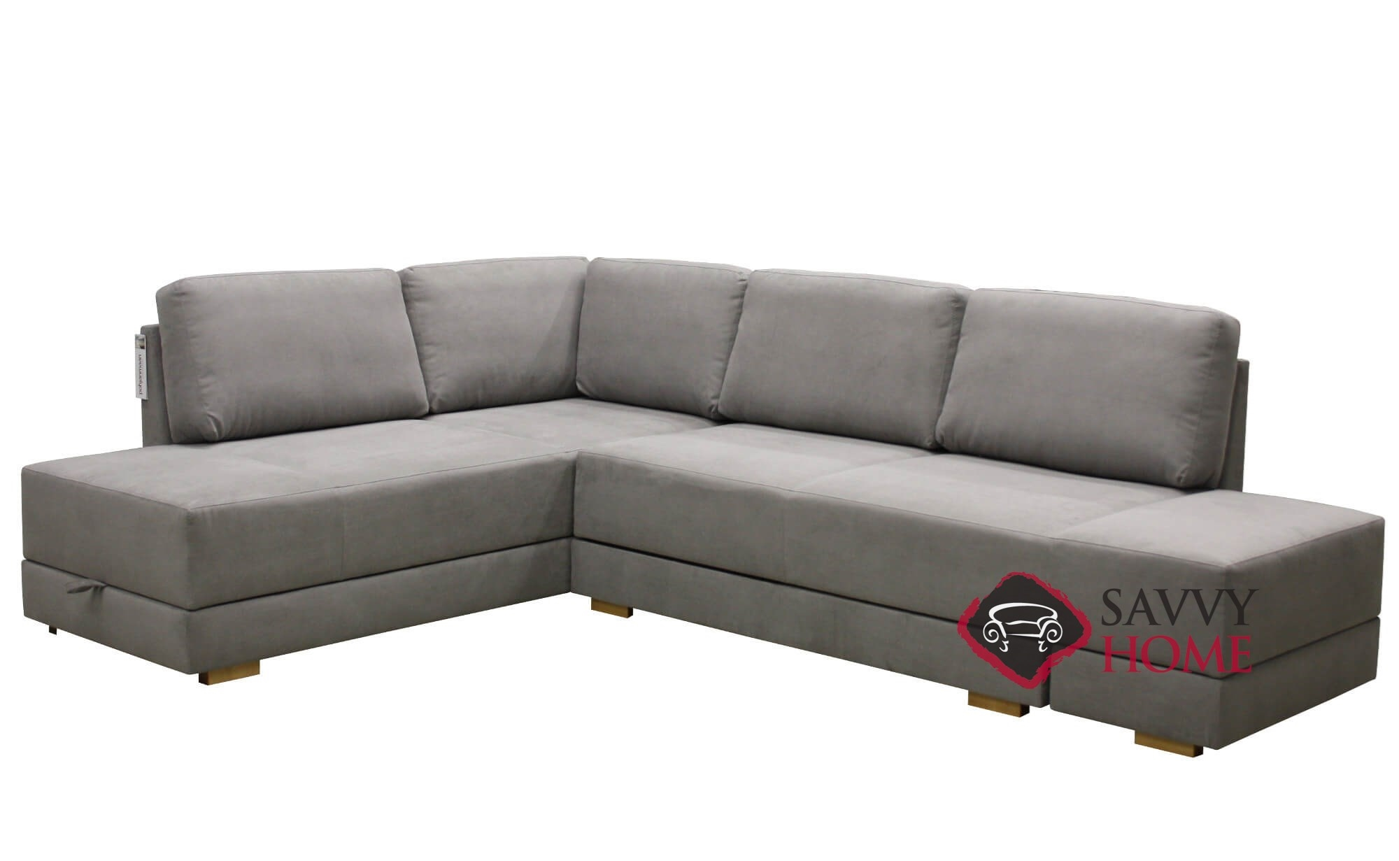 Queen Sofa Bed Brooklyn Sectional Queen Sofa Bed With Storage Option By Luonto