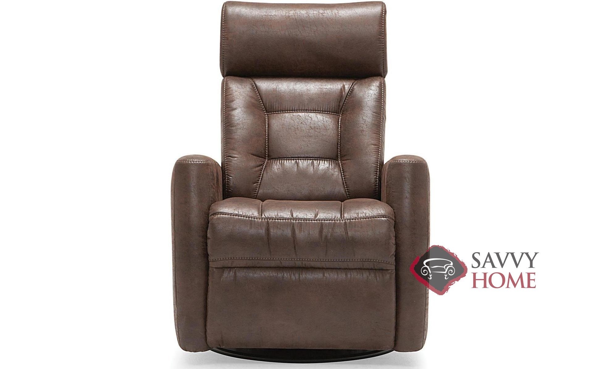 Electric Recliner Leather Chairs Baltic My Comfort Reclining Top Grain Leather Chair With Power Adjustable Headrest By Palliser