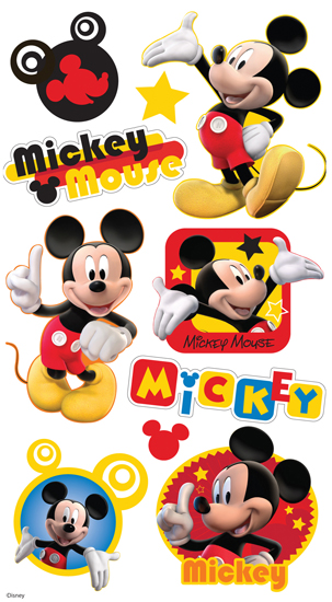 1st Birthday Mickey Mouse 12 month photo collage decoration idea - free birthday cards templates