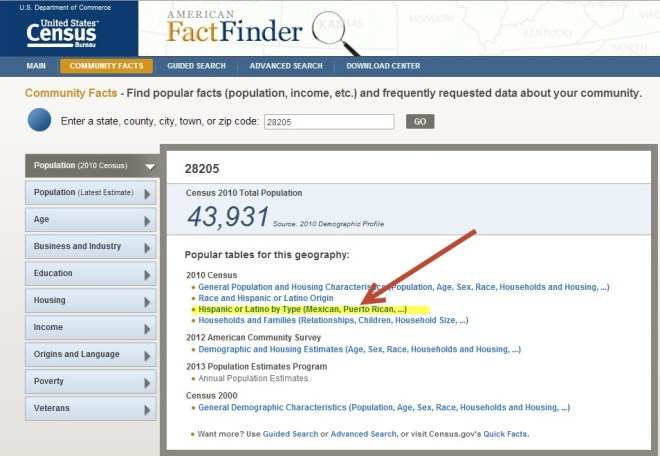American Fact Finder2