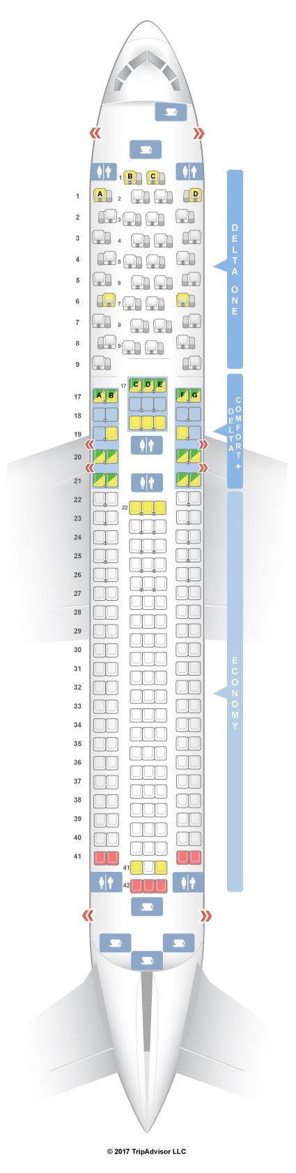 Boeing 737 900 Seating Chart Delta - Best Seat 2018