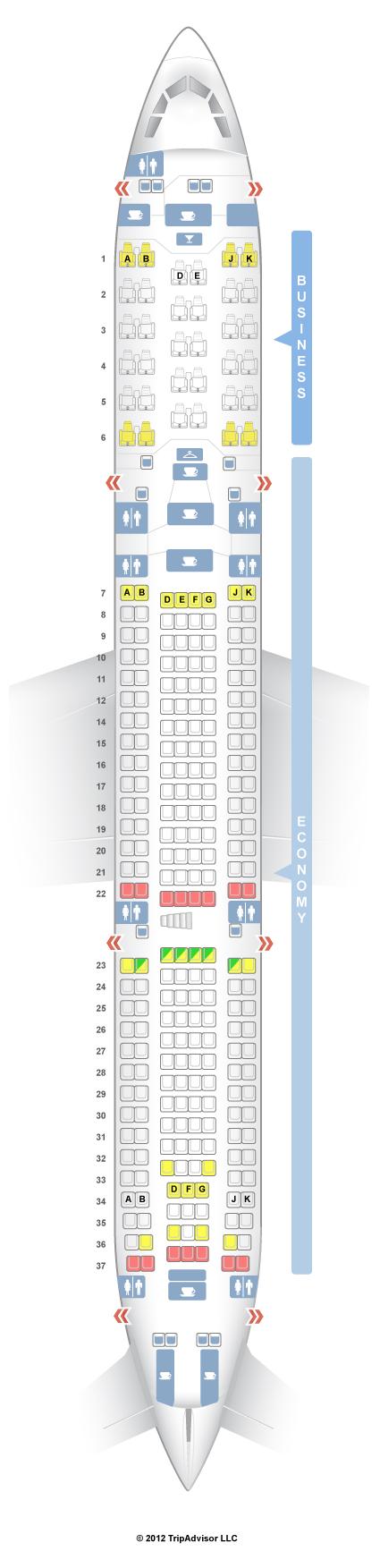 airbus 330 seat chart - Hunthankk