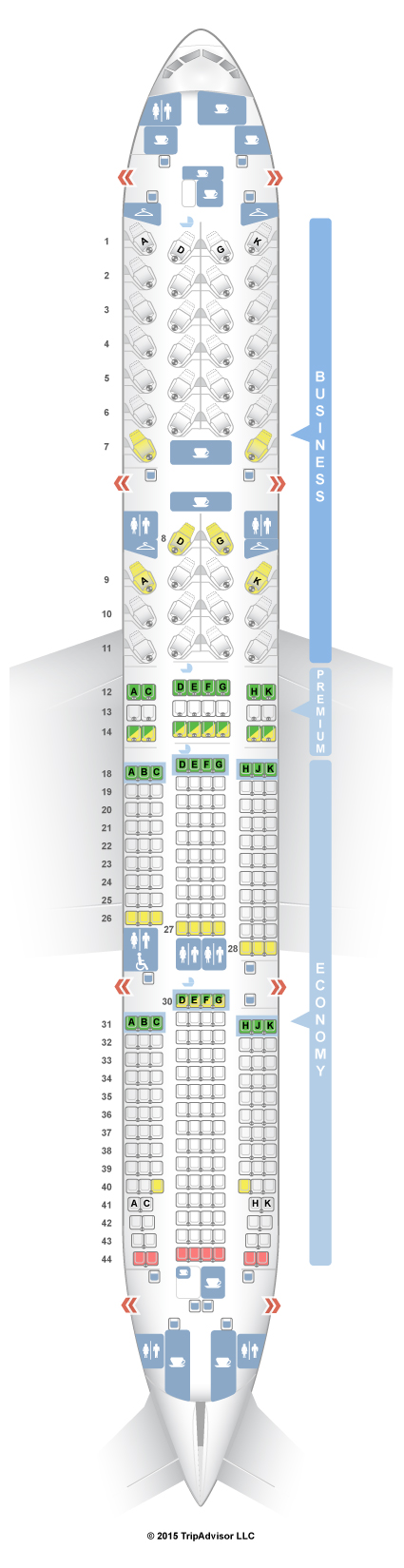 Boeing 787 8 Seat Map Air Canada - Best Seat 2018