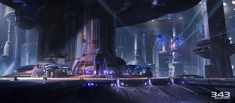 Killzone Shadow Fall Full Hd Wallpaper Halo 5 Guardians Concept Art By Darren Bacon Of 343i