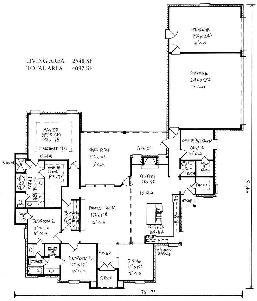 Small House Plans Jack Jill Bathroom Home Plans Blueprints 116816