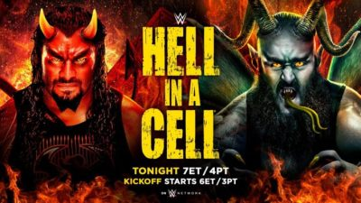WWE Hell In A Cell 2018 Results - SEScoops