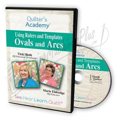 Ovals and Arcs Using Handi Gadget\u0027s Oval and Arc Templates DVD