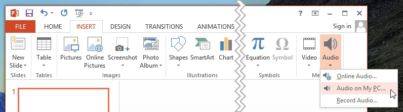 Adding Music to Your PowerPoint Presentation PowerPoint Tips and