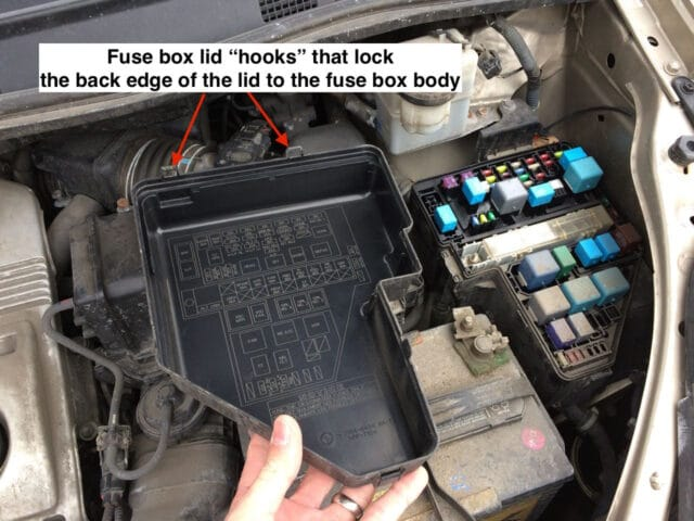 Toyota Sienna Fuse Locations - Share Your Repair