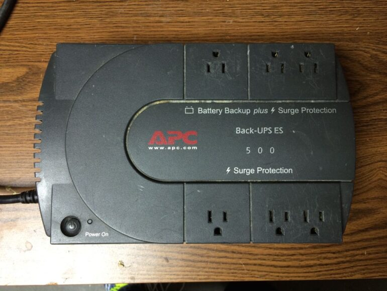 How to Permanently Disable the Beeping Alarm on an APC Back-UPS ES