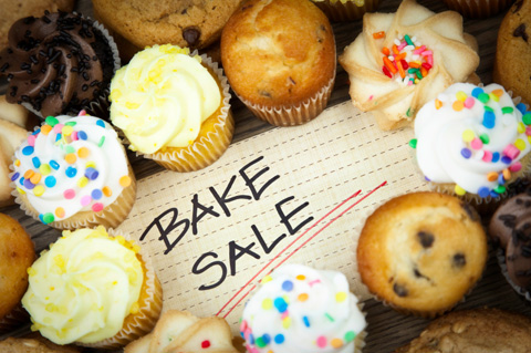 Bake sale basics How to rule the school - bake sale images