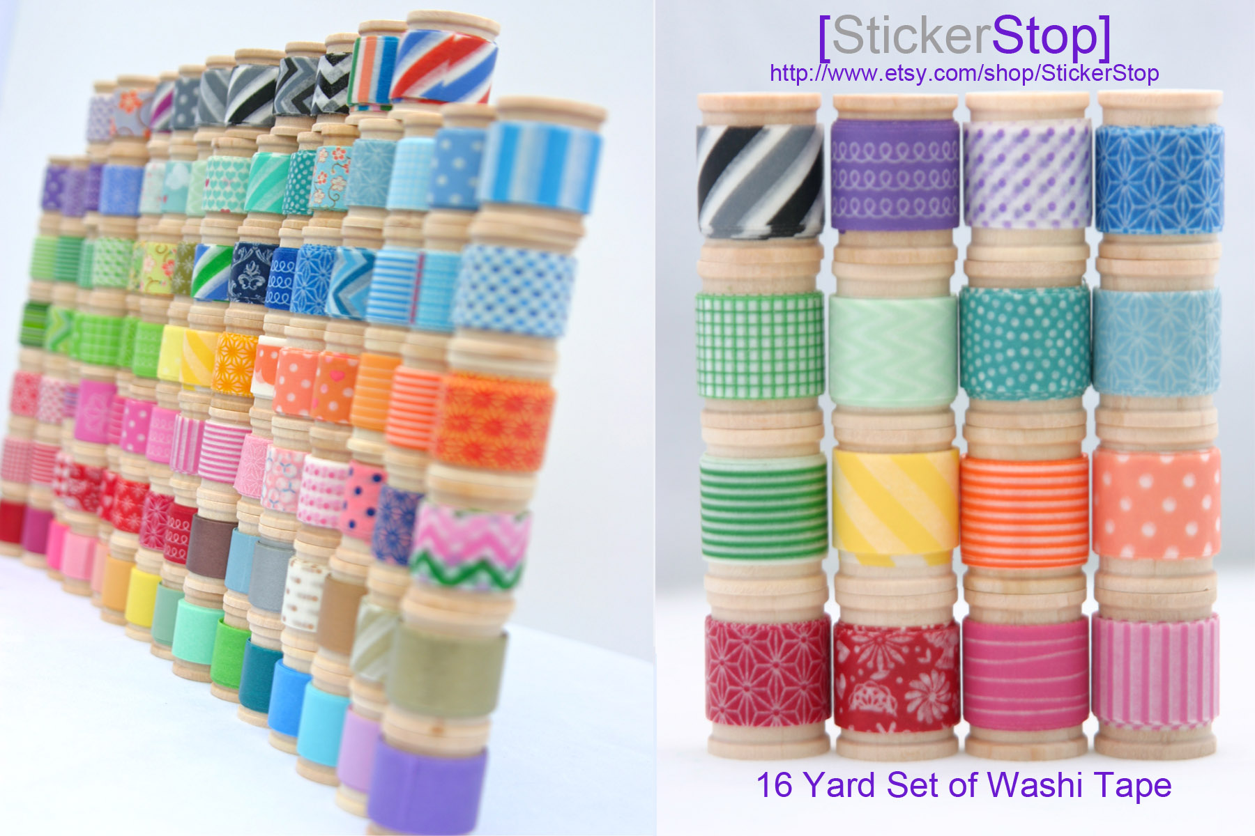 Washi Tale Stickerstop Washi Tape