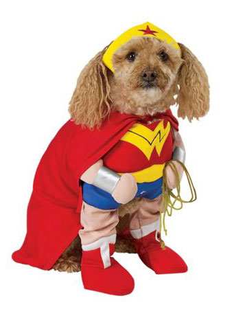 Dog costumes to match the kids