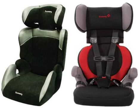 5 Point Harness Booster - High Back Booster Car Seat With  Point Harness