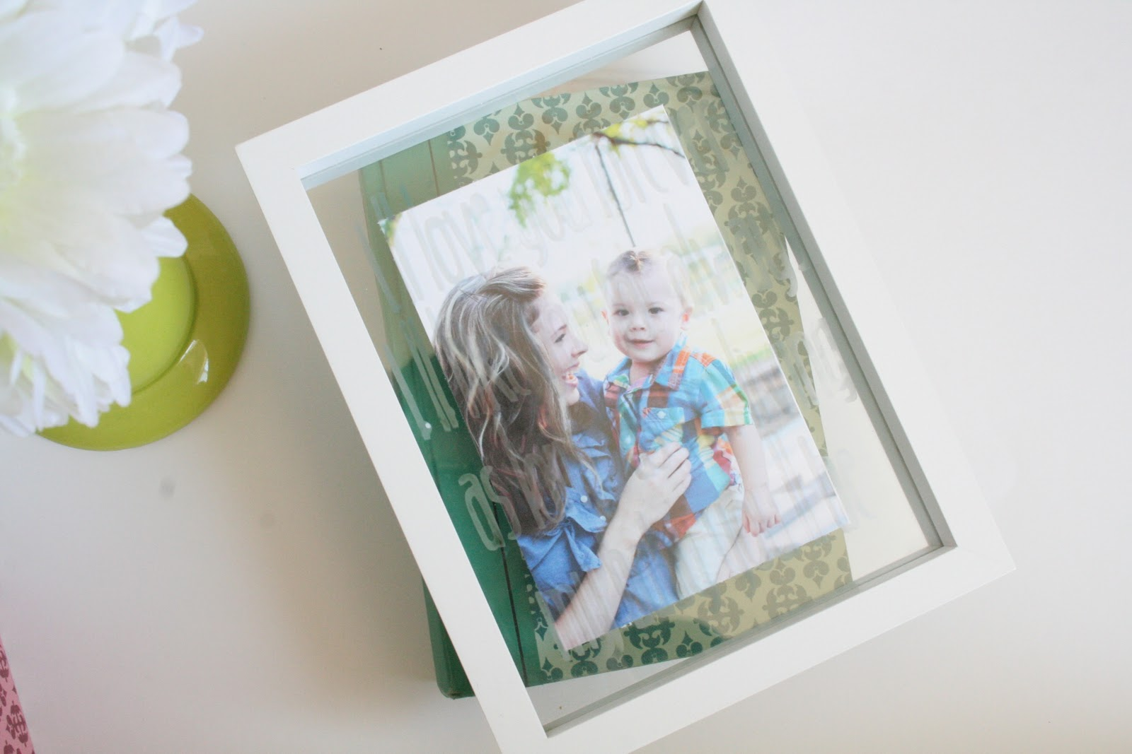 Diy Picture Frame With Glass Diy Photo Gift Ideas