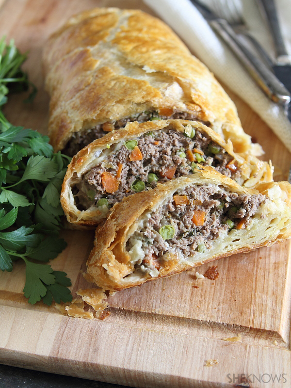 Paleo Ground Beef 'Wellington' with Fennel
