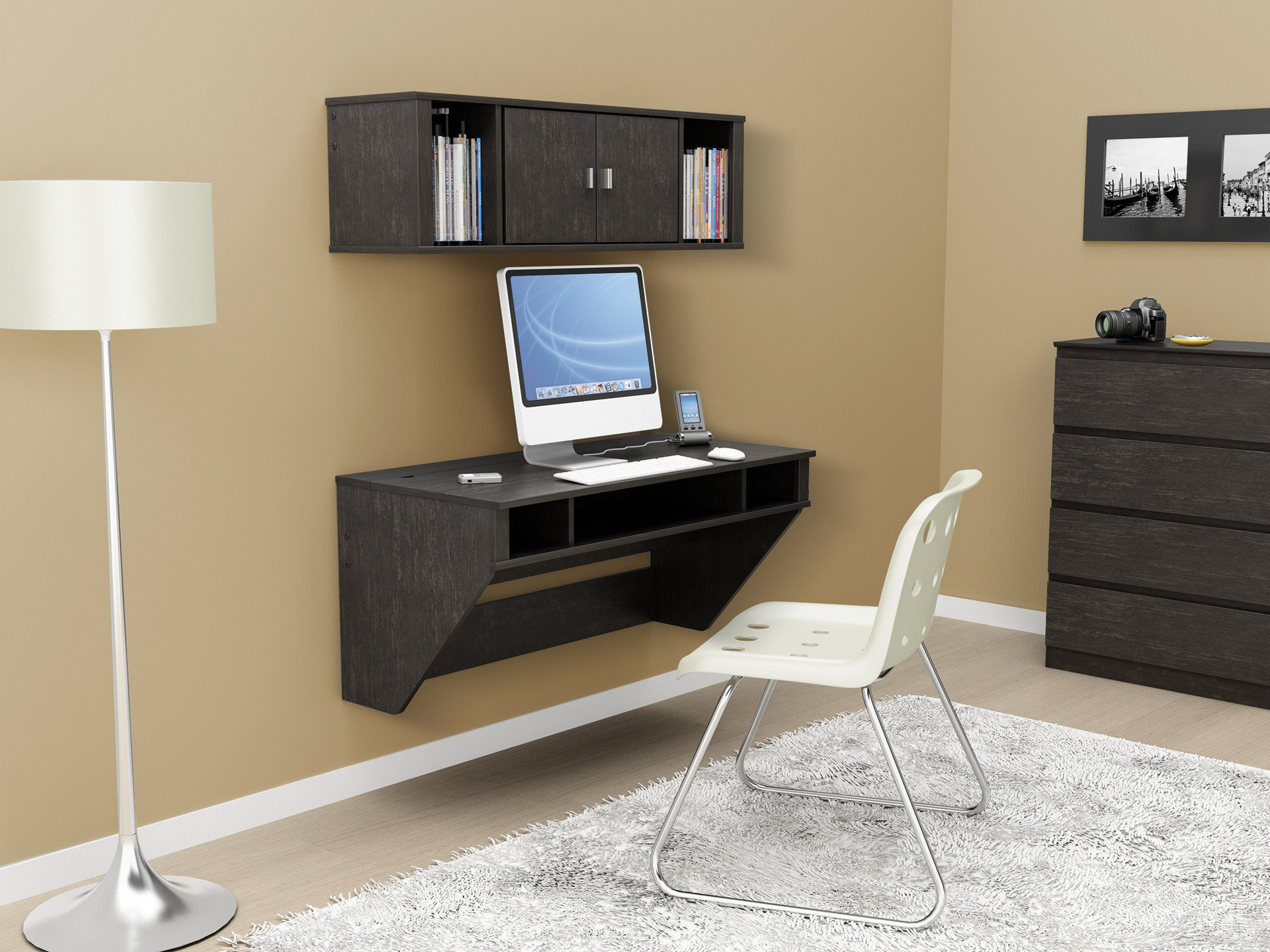 Wall Mount Office Desk Why Wall Mounted Desks Are Perfect For Small Spaces