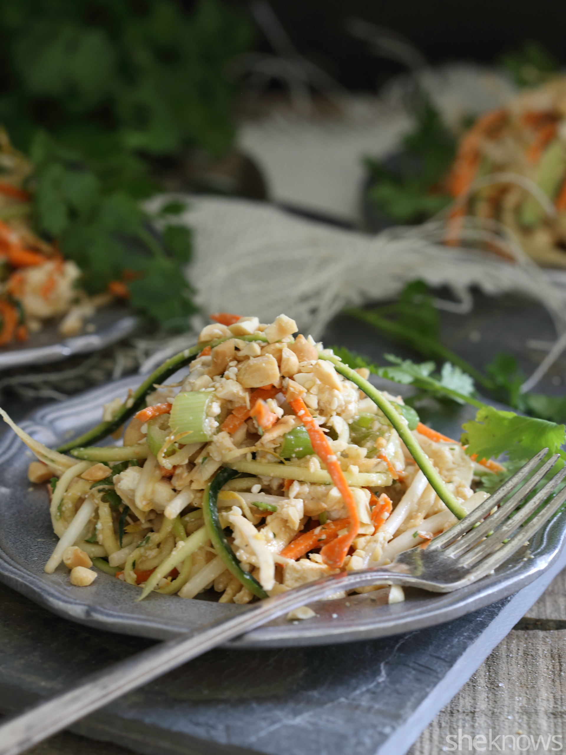 Thai Takeout 20-minute Noodleless Pad Thai Is A Healthy Take On Takeout