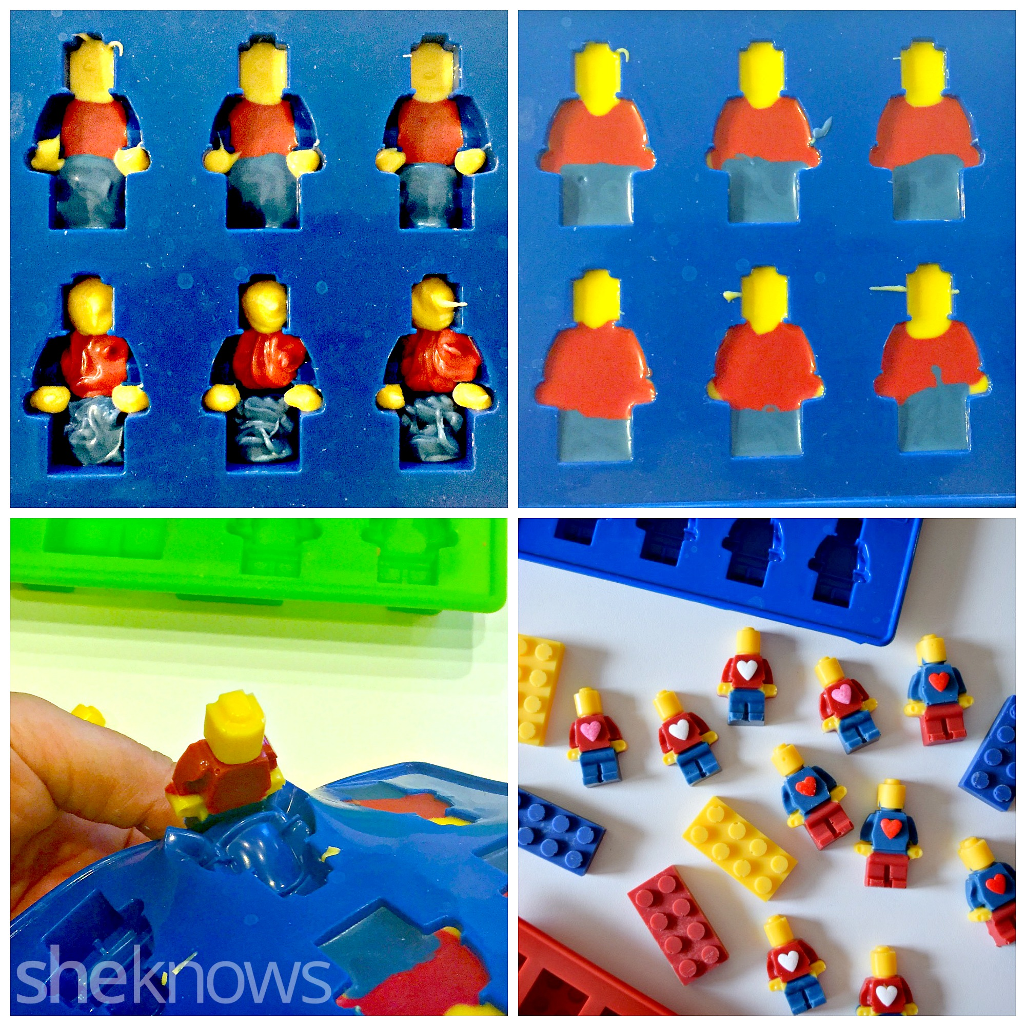 Lego Inspired Lego Inspired Valentine 39s Day Cards And Candies For Your