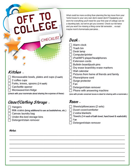 Teensu0027 guide to college \ career planning  your high school - shopping lists