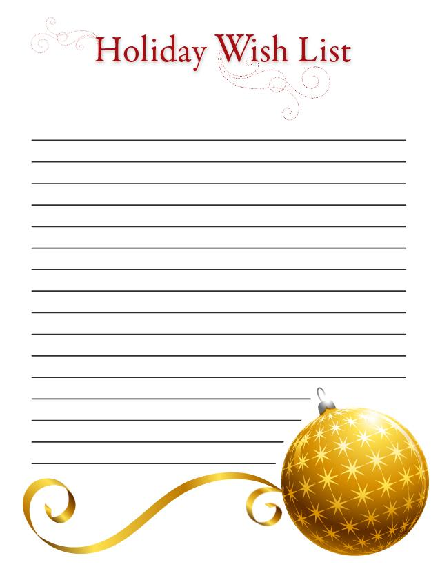 somewhat simple christmas corner santa claus wish list printable