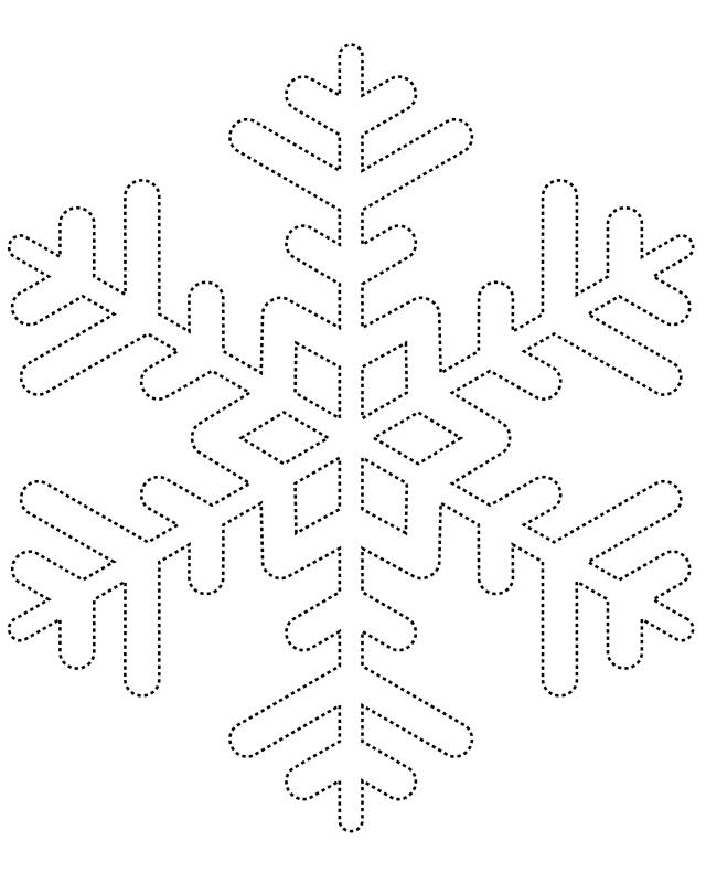 template for a snowflake - Selol-ink - snowflake template
