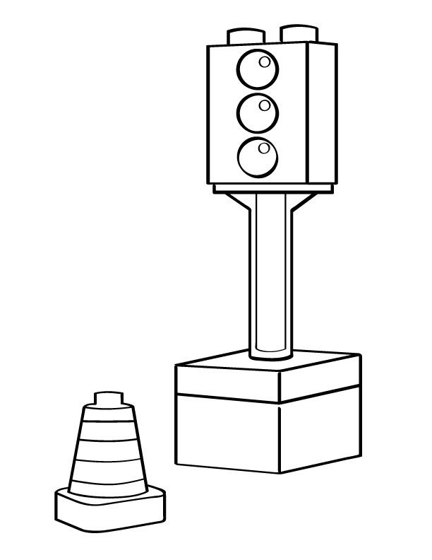 interactive toy traffic lights